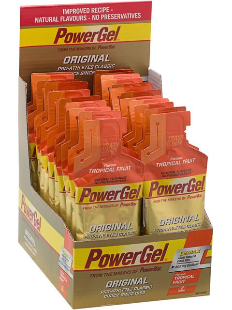 PowerBar PowerGel Original Box Tropical Fruits 24 x 41g